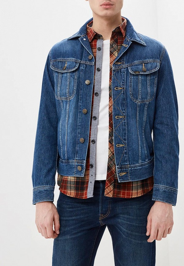 Куртка джинсовая Lee Lee LE807EMDFXW2 куртка джинсовая lee lee le807embohi2