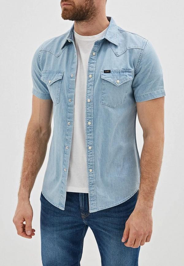 Рубашка джинсовая Lee Lee LE807EMDFXX3 рубашка lee lee le807emfror9