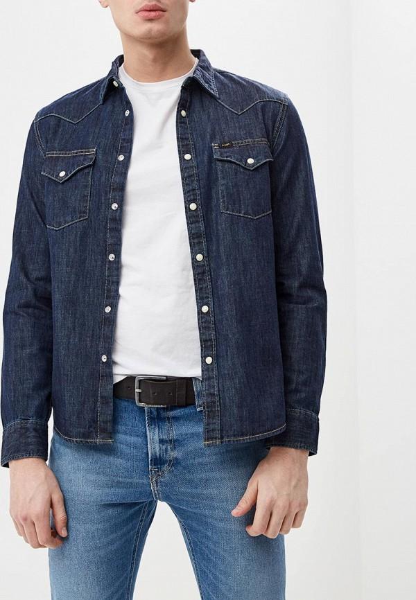 Рубашка джинсовая Lee Lee LE807EMDFXX7 куртка джинсовая lee lee le807embohi2