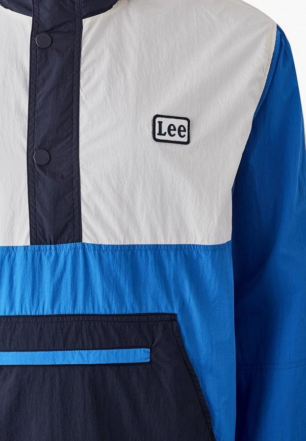 Фото 3 - Ветровка Lee синего цвета