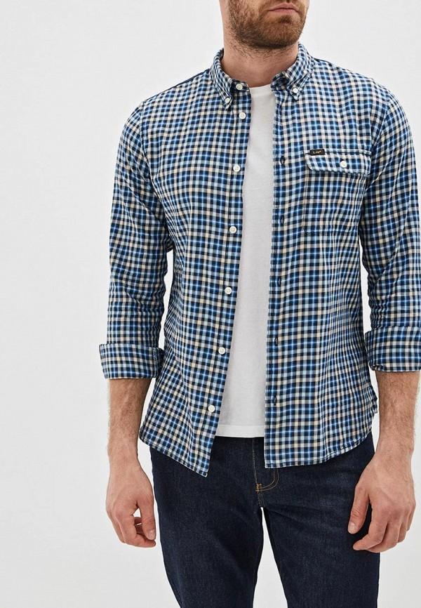 мужская рубашка с длинным рукавом lee, разноцветная