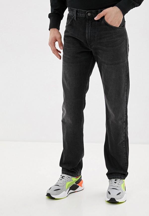 мужские прямые джинсы lee, серые