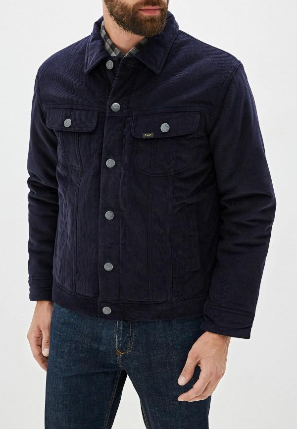 мужская куртка lee, синяя