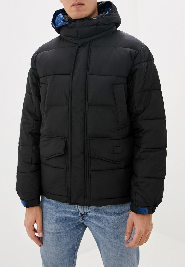 мужская куртка lee, черная