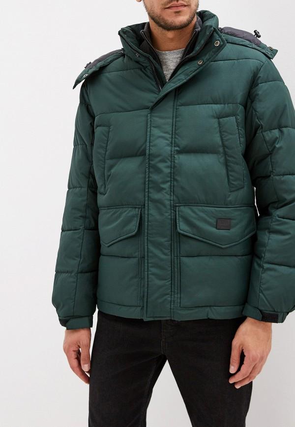 мужская куртка lee, зеленая