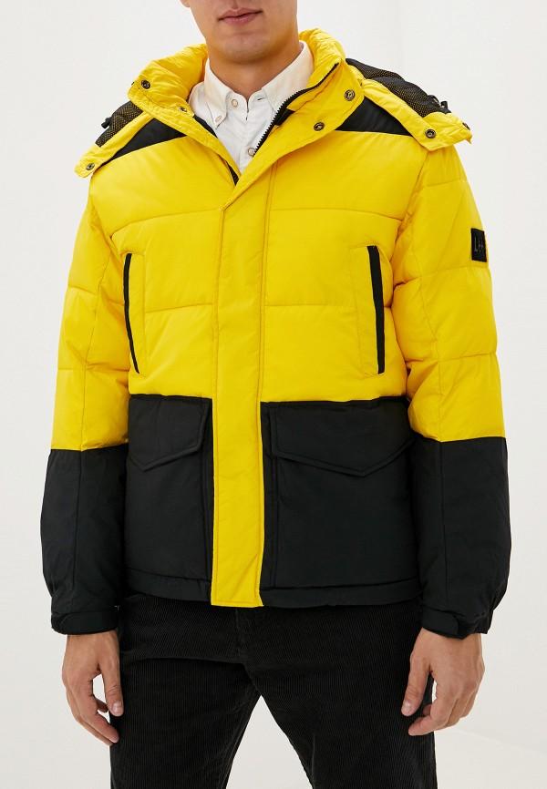 мужская куртка lee, желтая