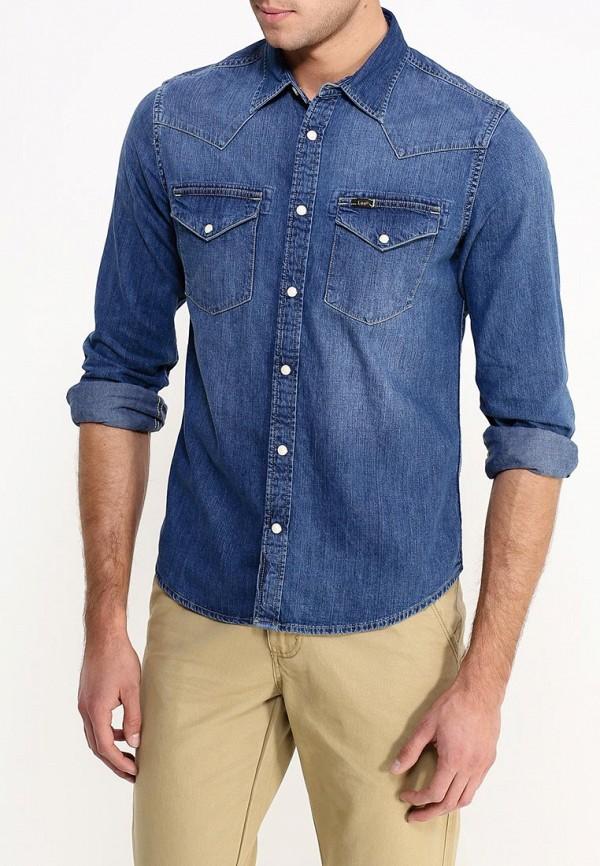 Рубашка джинсовая Lee Lee LE807EMGDP12 недорого