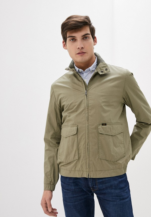 мужская куртка lee, хаки