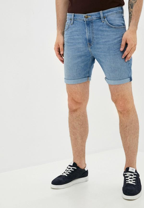 мужские джинсовые шорты lee, синие
