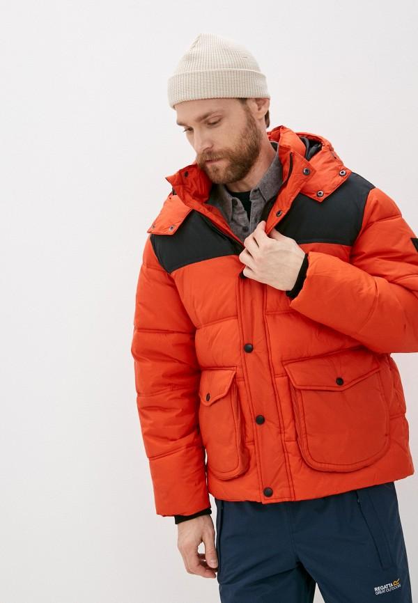 мужская куртка lee, коричневая