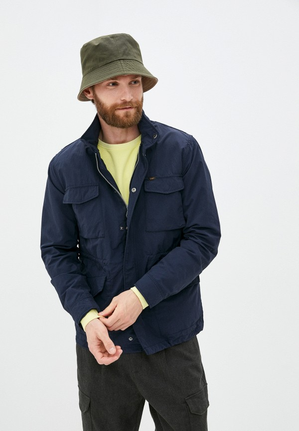 мужская легкие куртка lee, синяя