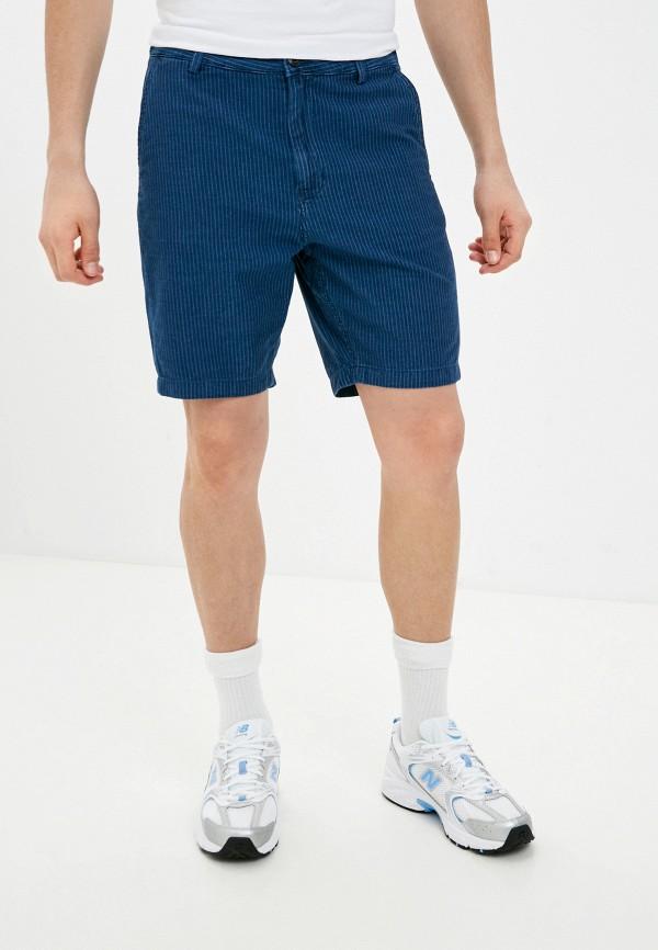 мужские повседневные шорты lee, синие