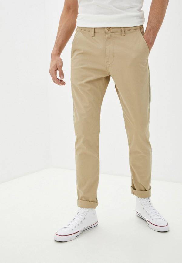мужские брюки чинос lee, бежевые