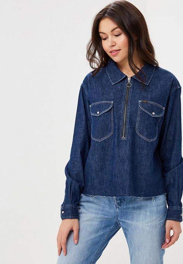 Рубашка джинсовая Lee Lee LE807EWBOGQ4 куртка джинсовая lee lee le807embohi2
