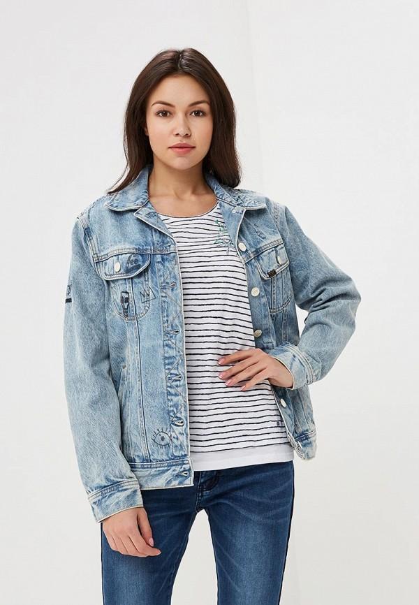 Купить Куртка джинсовая Lee, LE807EWBOGR2, голубой, Осень-зима 2018/2019