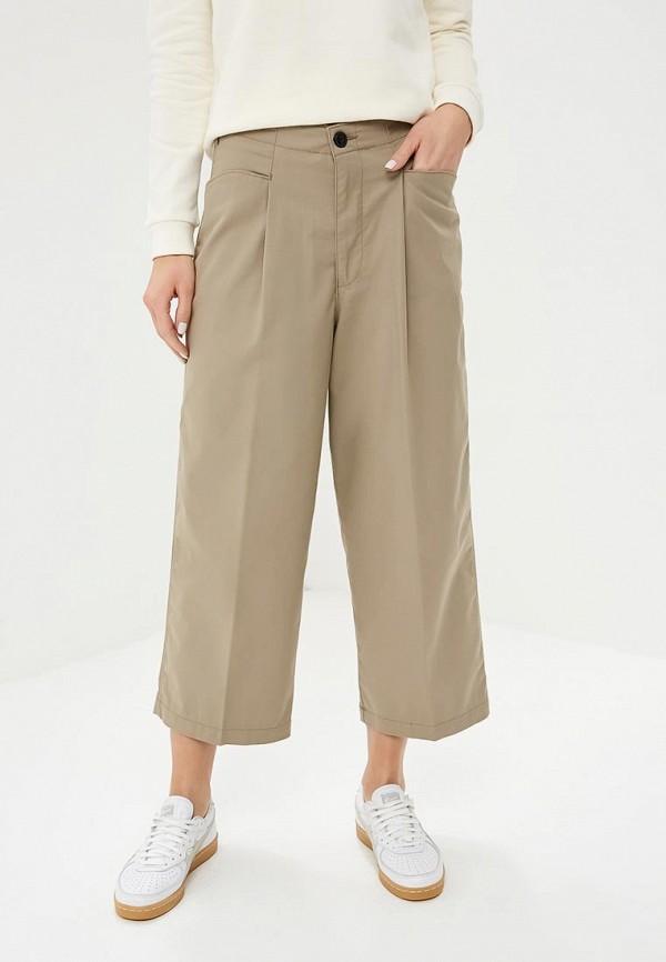 женские повседневные брюки lee, бежевые
