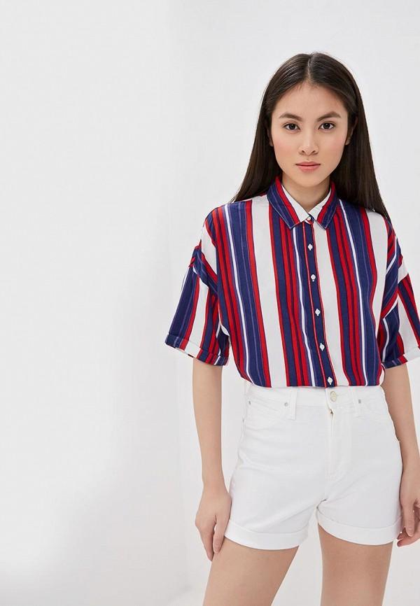 женская блузка lee, разноцветная