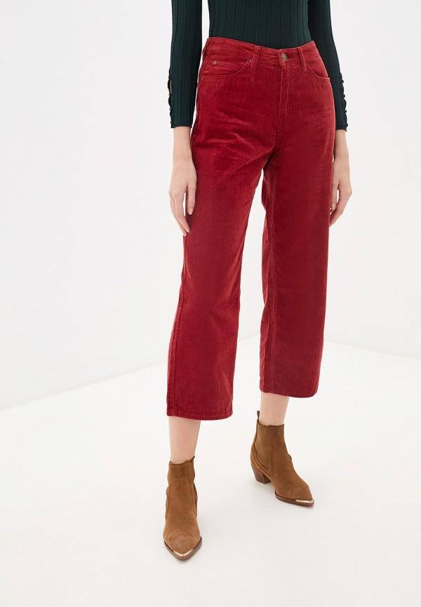 женские брюки lee, красные