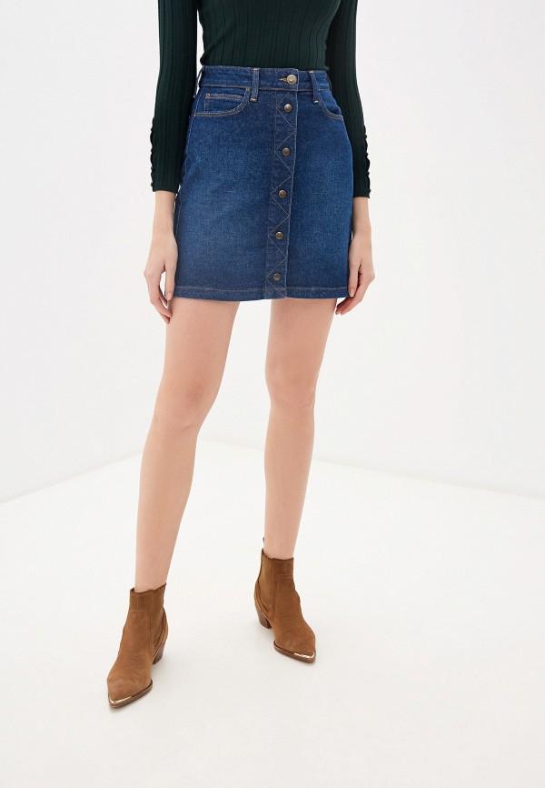 цены Юбка джинсовая Lee Lee LE807EWFRQC8