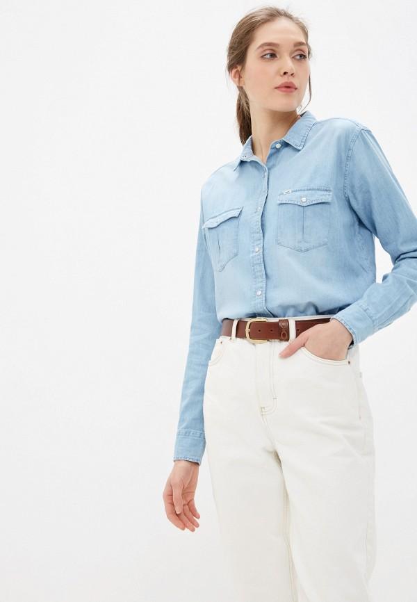 Рубашка джинсовая Lee Lee LE807EWFRQD3 рубашка lee lee le807emfror9