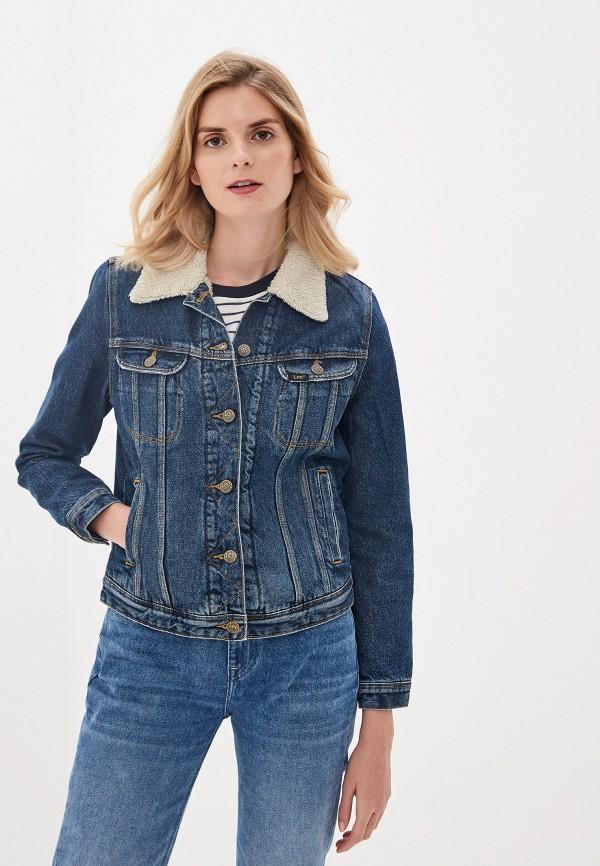 Куртка джинсовая Lee Lee LE807EWFRQD8