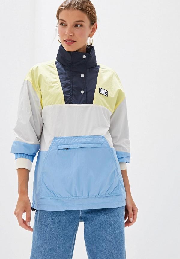 женская куртка lee, разноцветная
