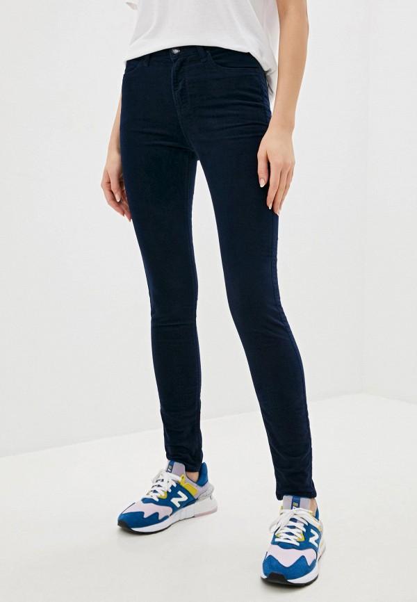женские повседневные брюки lee, синие