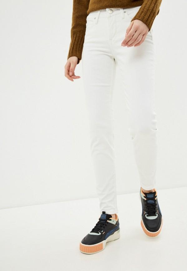женские джинсы скинни lee, белые