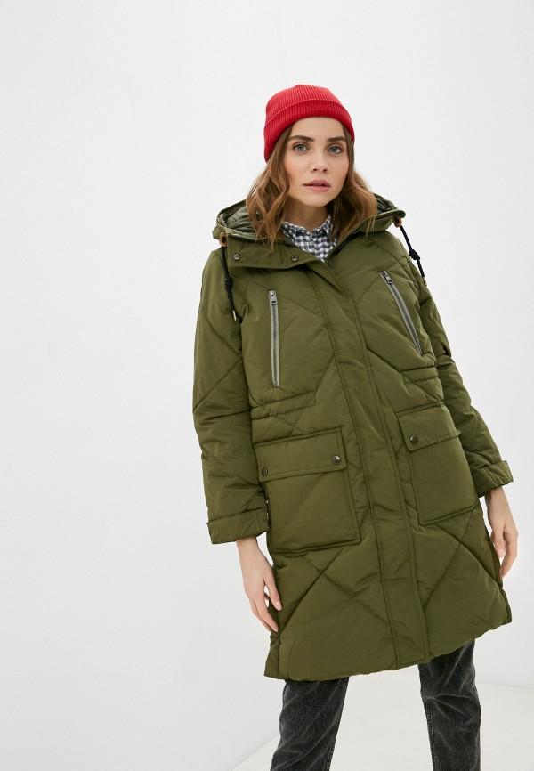 женская куртка lee, хаки