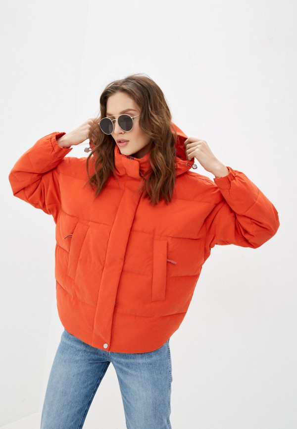 женская куртка lee, красная