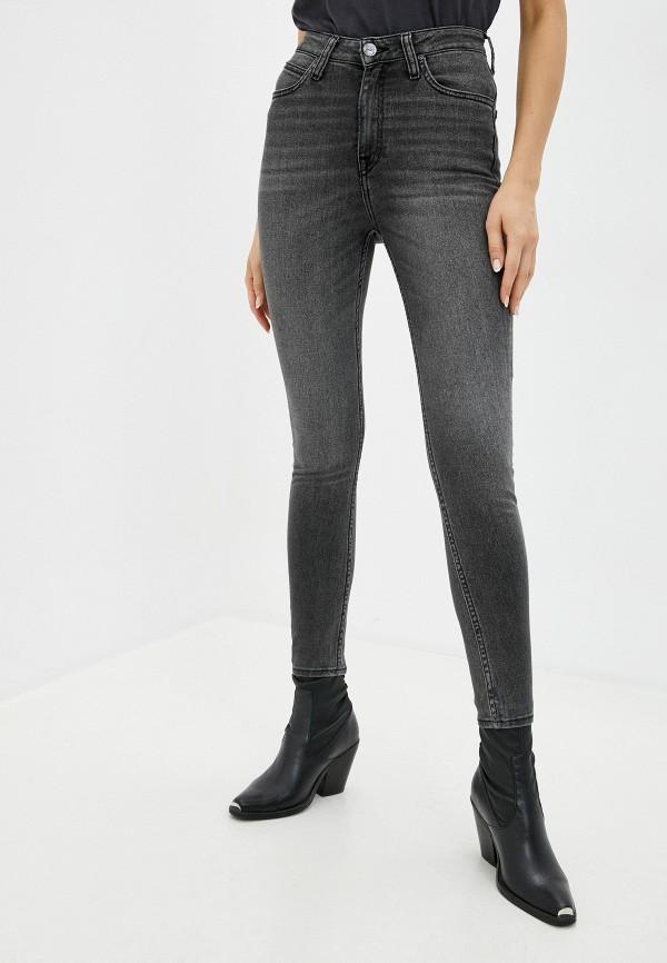 женские джинсы lee, серые