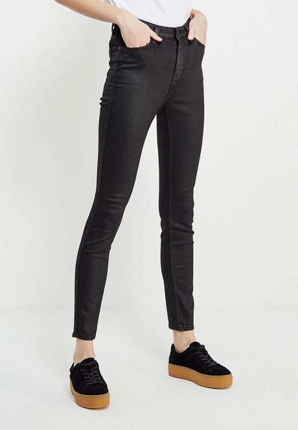 Фото - женские джинсы Lee черного цвета
