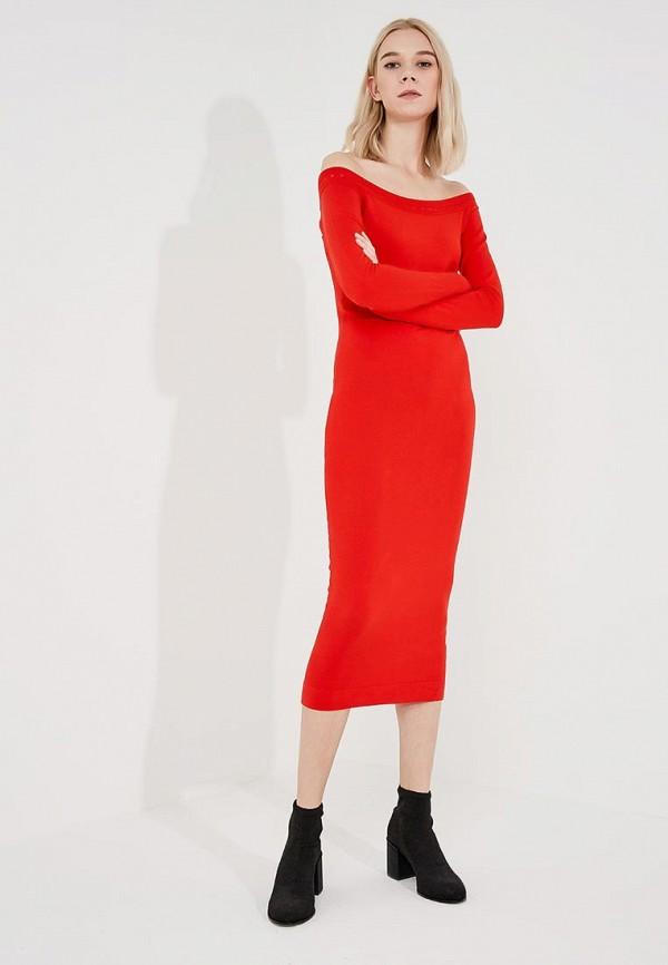 женское вечерние платье liu jo, красное
