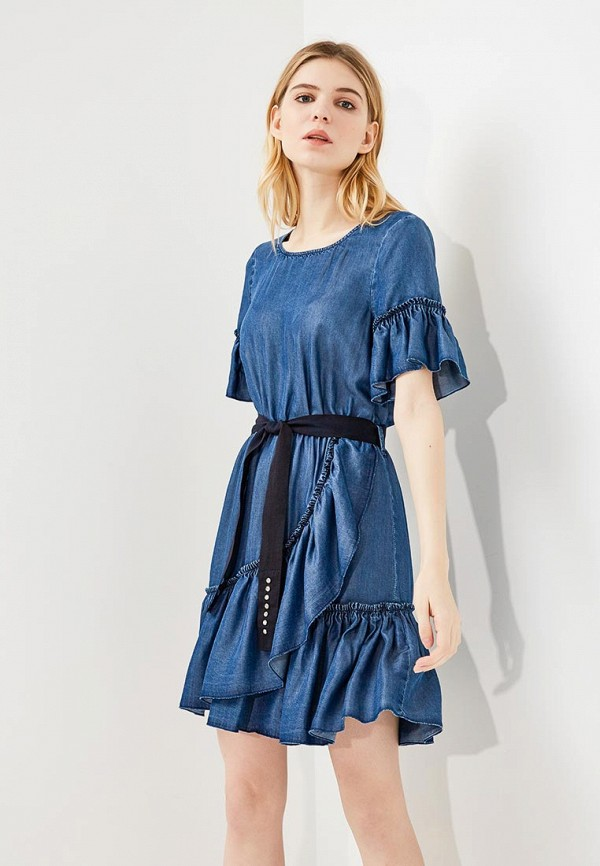 Платье джинсовое Liu Jo Liu Jo LI003EWZHF12 платье liu jo c18216j1714 22222