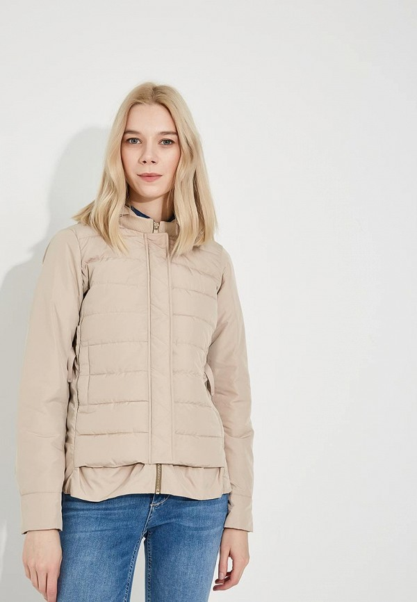 Купить Куртка утепленная Liu Jo, li003ewzhf15, бежевый, Весна-лето 2018