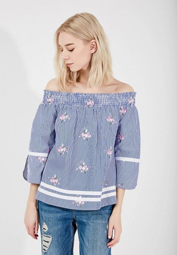 Купить Блуза Liu Jo, li003ewzhf39, синий, Весна-лето 2018
