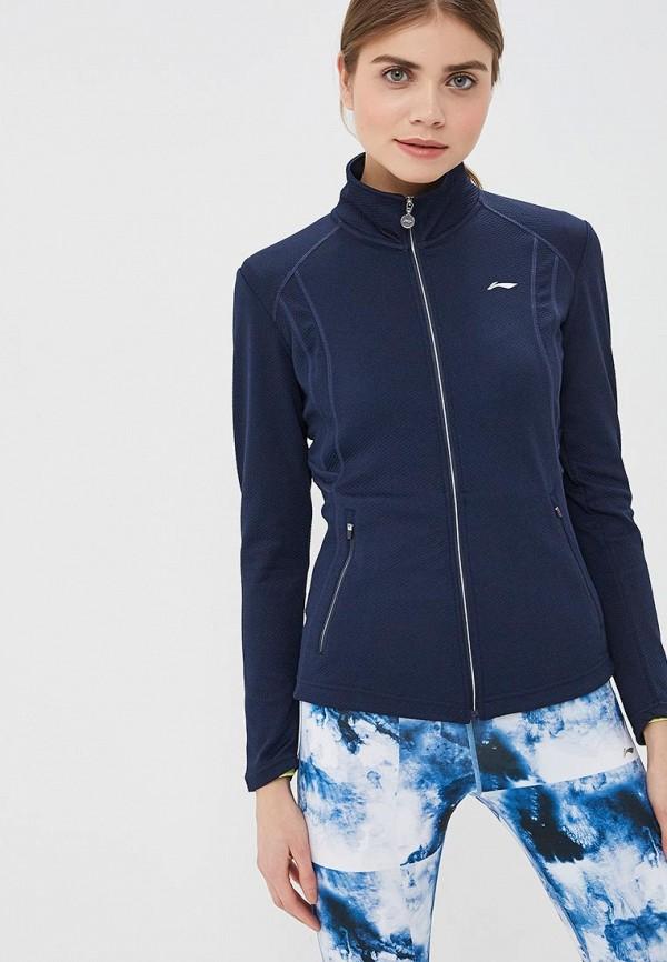 женская олимпийка li-ning, синяя