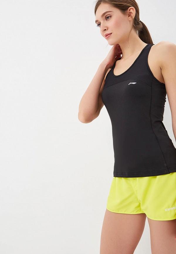 Майка спортивная Li-Ning Li-Ning LI004EWERRH5 li ning li ning arkm019 4 мужская легкая дышащая умная кроссовка черный желтый фиолетовый 41 ярдов