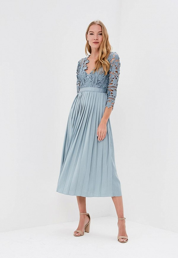 Купить Платье Little Mistress, li005ewaoxt7, голубой, Весна-лето 2018