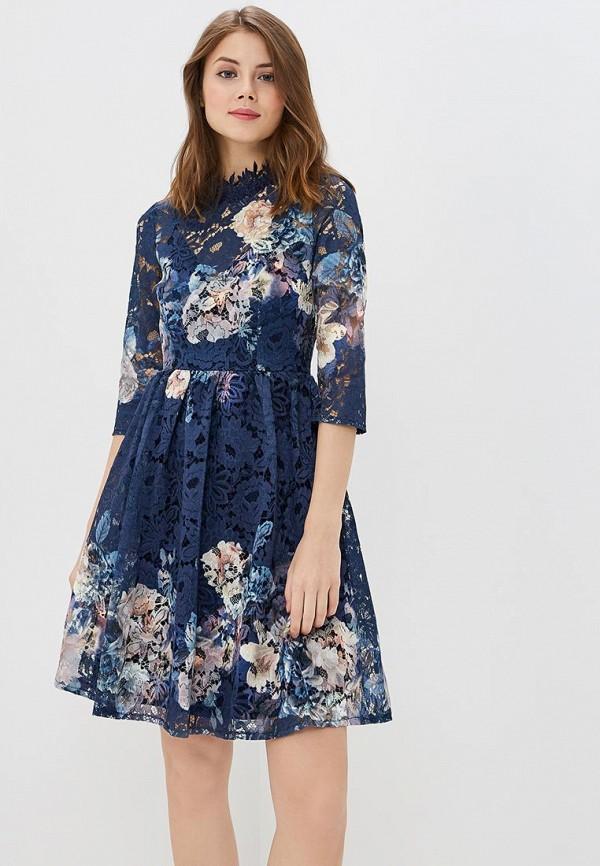 Купить Платье Little Mistress, LI005EWAOXU4, синий, Весна-лето 2018
