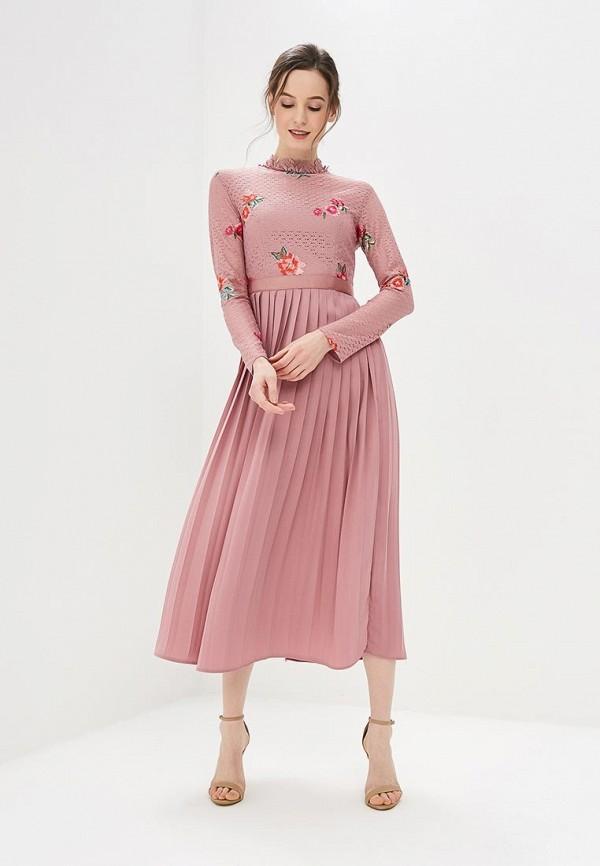 Купить Платье Little Mistress, LI005EWBISV8, розовый, Весна-лето 2018
