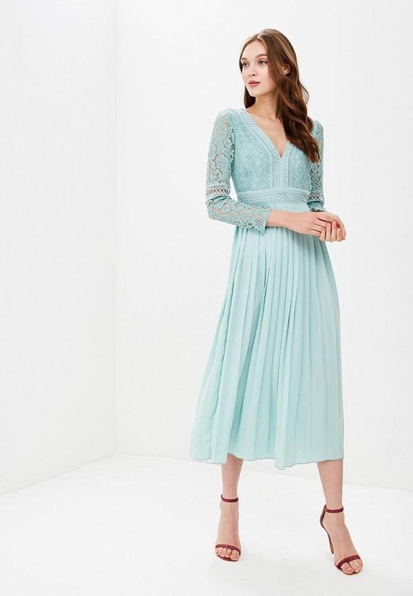 Купить Платье Little Mistress, LI005EWBPBU9, бирюзовый, Весна-лето 2018