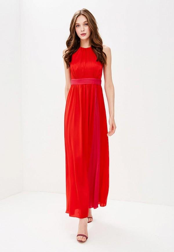 женское вечерние платье little mistress, красное