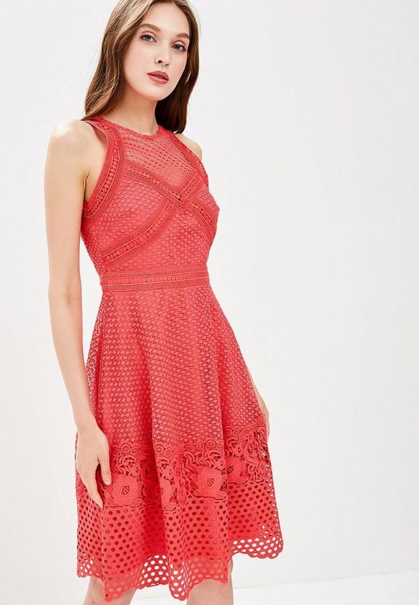 Купить Платье Little Mistress, LI005EWBPBV6, коралловый, Весна-лето 2018