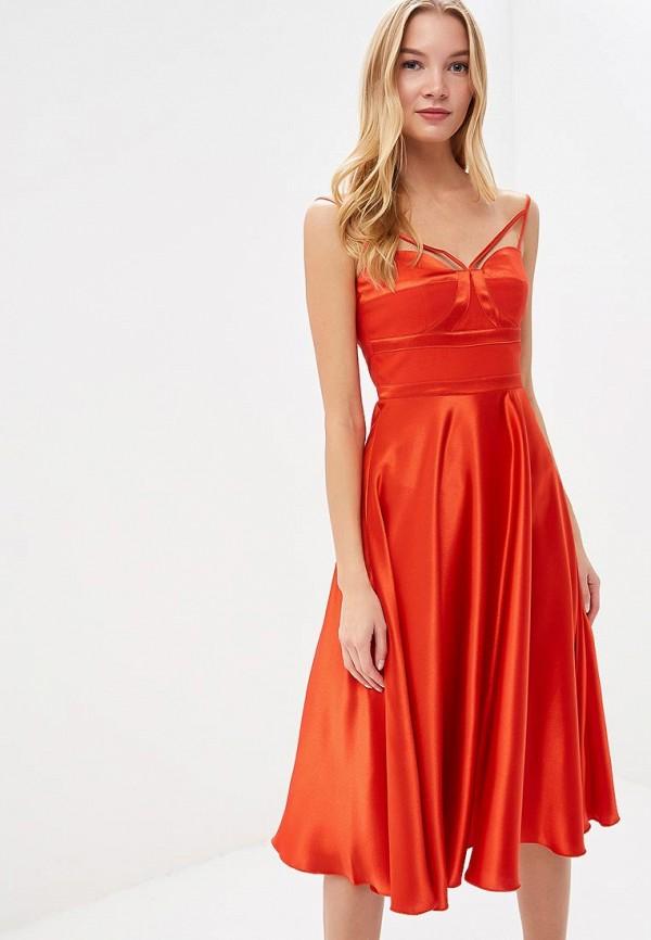 Купить Платье Little Mistress, li005ewbzlz0, красный, Осень-зима 2018/2019