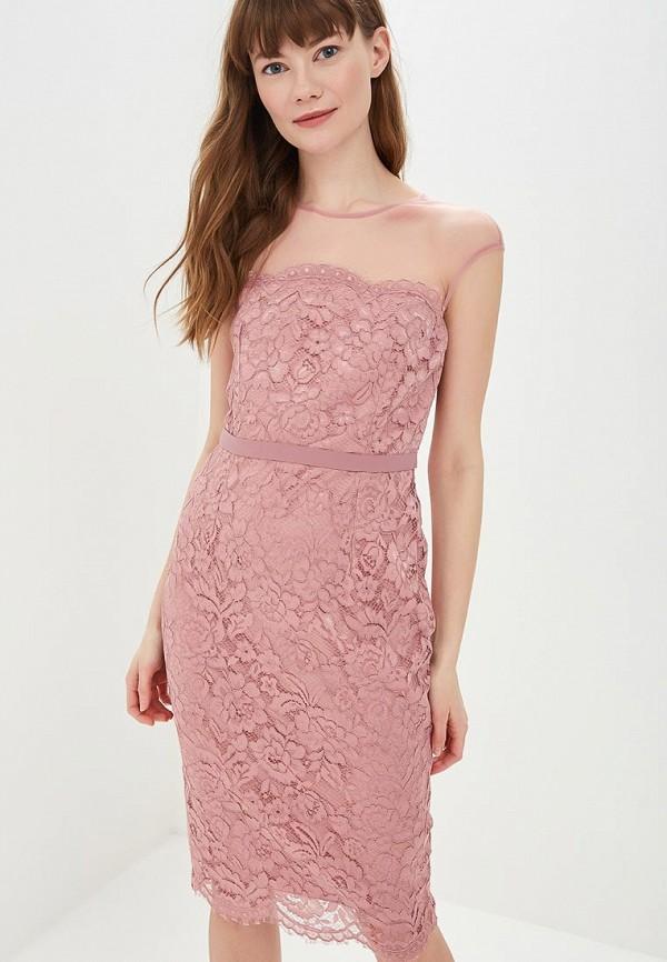 женское платье-футляр little mistress, розовое