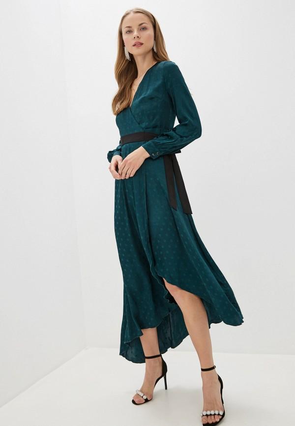 женское платье little mistress, зеленое