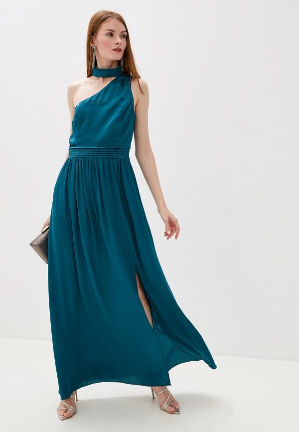 женское вечерние платье little mistress, бирюзовое