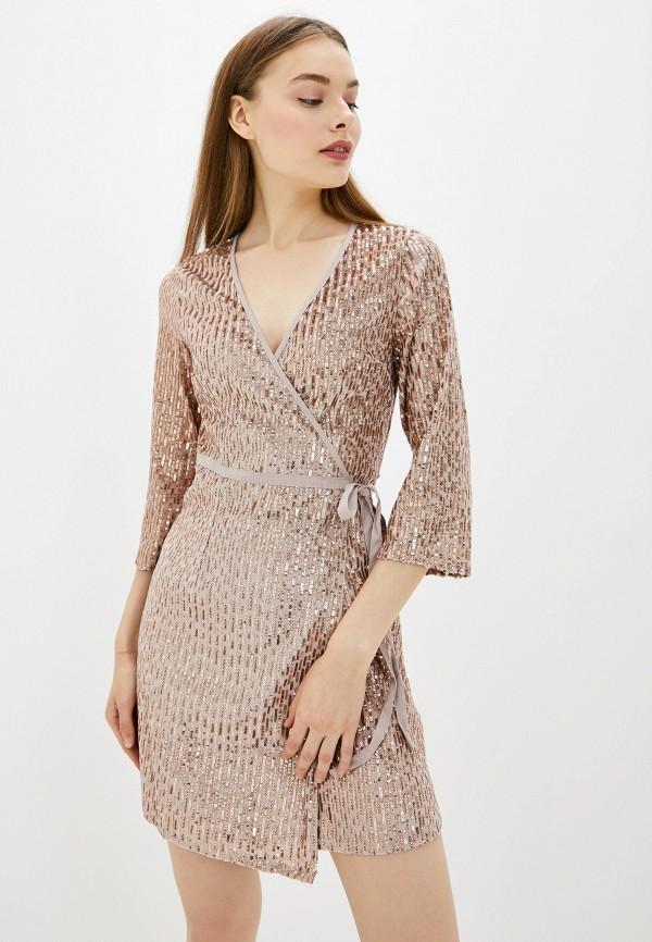 женское вечерние платье little mistress, розовое