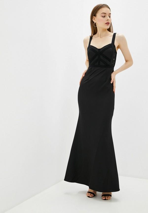 женское повседневные платье little mistress, черное